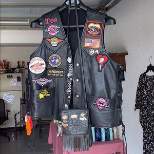 Jackets & Blazers - Motorcycle vest